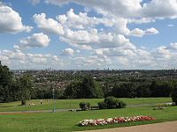 Haringey from Alexandra Palace