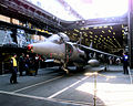 Harrier GR7 on lift of HMS Illustrious (R06) 1998.JPEG