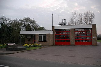 Bedfordshire Fire and Rescue Service - Image: Harrold Fire Station