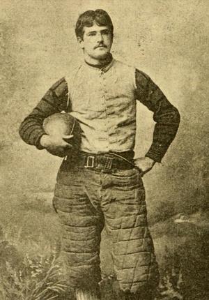 Harry Thayer (American football) - Harry C. Thayer c. 1893