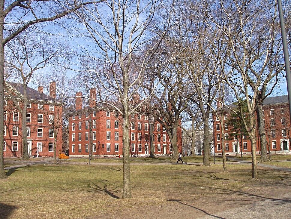 Harvard Yard, Harvard University