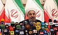 Hassan Rouhani press conference after his election as president 10.jpg