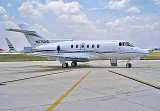 Civil jet aircraft used by companies