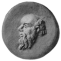 Head of Silenus - Project Gutenberg eText 19115.png