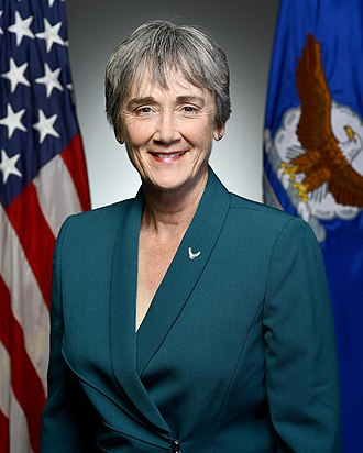 Heather Wilson - Wilson's first Secretary of the Air Force portrait, 2017