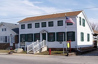 Hebron, Indiana - The Stagecoach Inn, built in 1849, is now a local history museum