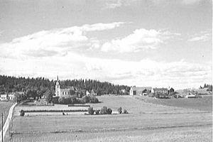 Heggstad Church - Image: Heggstad kyrkje Wilse