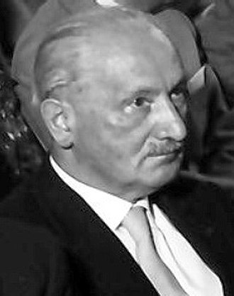 Bruces' Philosophers Song - Heidegger in 1960.