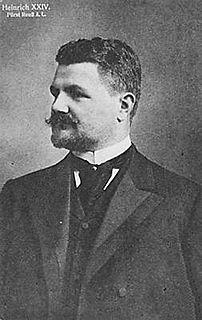 Heinrich XXIV, Prince Reuss of Greiz Prince Reuss of Greiz