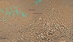 Secchi (Martian crater) - Image: Hellas quantangle