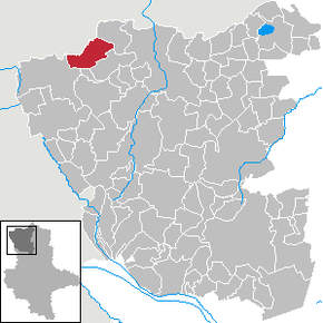 Location of Henningen within Altmarkkreis Salzwedel
