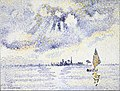 Henri Edmond Cross - Sunset on the Lagoon, Venice - Google Art Project.jpg