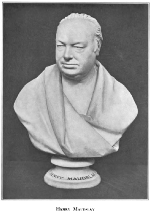 Henry Maudslay - Image: Henry Maudslay bust from Roe 1916