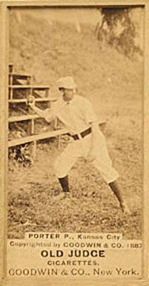 Henry Porter (baseball) - Image: Henry Porter (baseball)