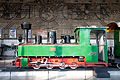 Henschel steam locomotive in Sofia Central Railway Station 2012 PD 14.jpg