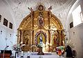 Hermitage of La Virgen del Camino (Castrillo de Villavega) 002 altar piece..JPG