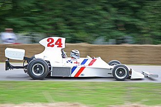 Hesketh 308 - Freddie Hunt demonstrating the 308B at the 2008 Goodwood Festival of Speed.