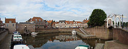 Old harbour in Heusden
