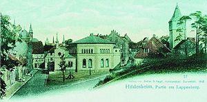 Lappenberg (Hildesheim) - Hildesheim's synagogue.