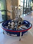 Hiller 1031 Flying Platform replica, 1955 - Evergreen Aviation & Space Museum - McMinnville, Oregon - DSC00936.jpg