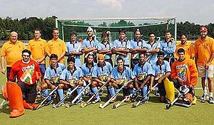 English: Indian Hockey team