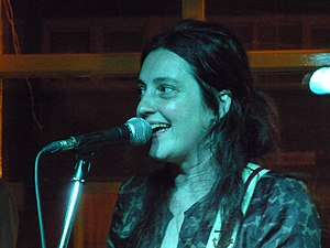 Holly Golightly (singer) - Image: Holly Golightly in London 2009 closeup