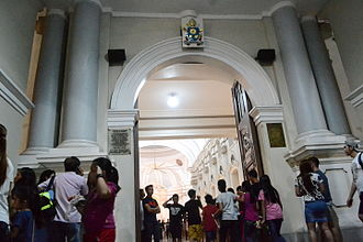 Holy door - The holy door of the Metropolitan Cathedral of San Fernando for the Holy Year of Mercy