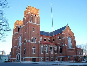 Holy Name of Jesus Complex (Worcester, Massachusetts) - Image: Holy Name of Jesus Worcester