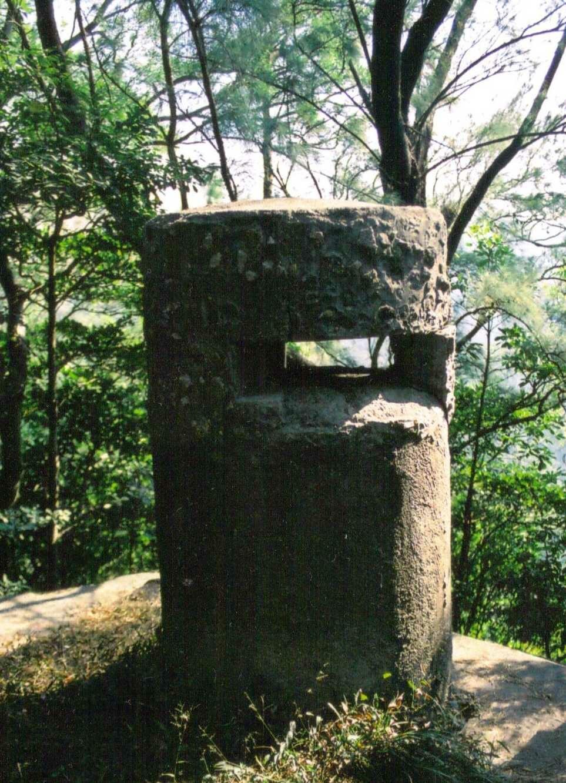 Hong Kong, pillar box near Jardine%27s lookout