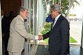 Honras militares ao secretário de Defesa e Desenvolvimento Urbano do Sri Lanka, Gotabaya Rajapaksa. (11969513934).jpg