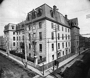 Montreal General Hospital - The hospital in 1890