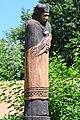 Hosszúhetény-Kisújbánya, Nepomuki Szent János-szobor 2021 06.jpg
