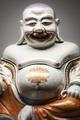 Hotei, Bu-Dai, leende Buddha, 1730-1750 - Hallwylska museet - 107702.tif