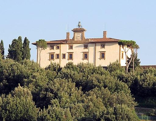 Forte Belvedere, veduta da Hotel la Scaletta