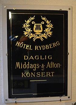 Hotell Rydberg – Wikipedia