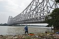 Howrah Bridge Over River Hooghly - Kolkata 2017-09-02 2488.JPG