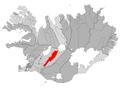 Hrunamannahreppur map.png