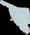 Huatabampo Sonora map.png