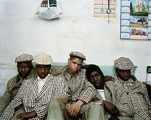 Ulwaluko - Xhosa initiates after circumcision ritual