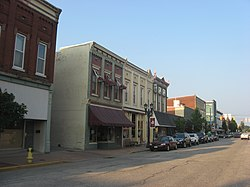 Downtown Huntingburg