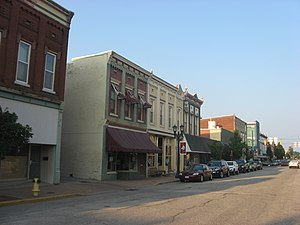 Huntingburg, Indiana - Huntingburg Commercial Historic District