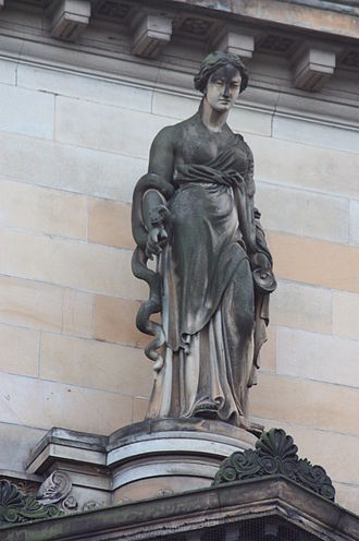 Hygieia - Hygieia by Alexander Handyside Ritchie, College of Physicians, Queen Street, Edinburgh