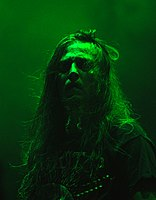 Hypocrisy, Peter Tägtgren at Party.San Metal Open Air 2013 04.jpg