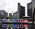 I've always got time for the Toronto sign. -igerstoronto -torontophotography -urban toronto -TorontoSign -CityHall -The6ix -nathanphillipssquare -cityhall (41401173941).jpg