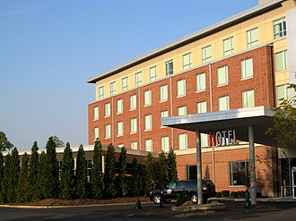 Research Park at the University of Illinois at Urbana–Champaign - I-Hotel located within Research Park in Champaign, Illinois