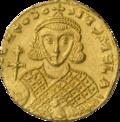INC-2026-a Солид. Феодосий III Андрамитянин. Ок. 715—717 гг. (аверс).png