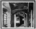 INTERIOR, ARCADED PASSAGEWAY - Mercer Museum, Pine and Ashland Streets, Doylestown, Bucks County, PA HABS PA,9-DOYLT,3-15.tif