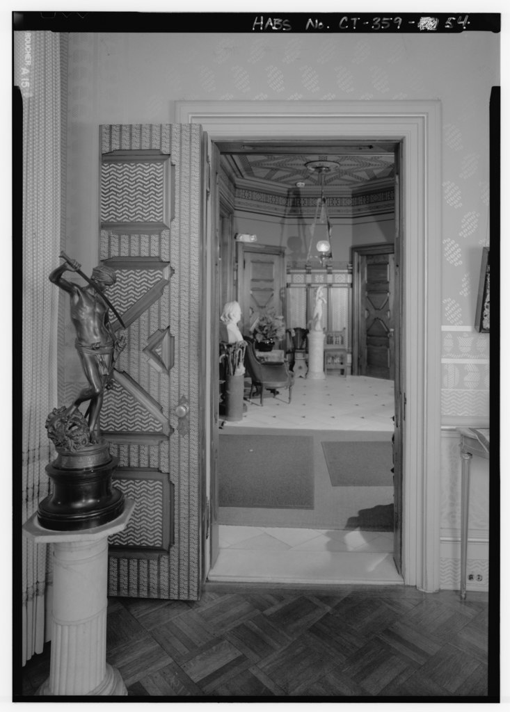 File:INTERIOR, FIRST FLOOR, DRAWING ROOM, SOUTH WALL, EAST ...