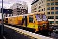 Iarnród Éireann train at Grand Canal Dock station - geograph.org.uk - 670436.jpg