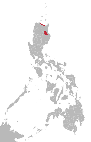 Ibanag language map.png